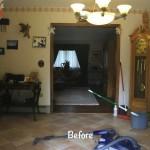 Hallway 3 Before